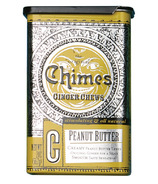 Chimes Peanut Butter Ginger Chews Tin