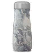 S'well Traveler Stainless Steel Wide Mouth Bottle Blue Granite