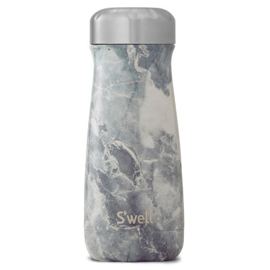 S\'well Traveler Stainless Steel Wide Mouth Bottle Blue Granite