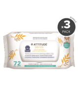 ATTITUDE Natural Baby Wipes Bundle