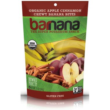 Barnana Apple Cinnamon Organic Chewy Banana Bites