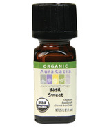 Aura Cacia Sweet Basil Organic Essential Oil