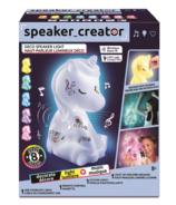 Canal Toys Haut-parleur en forme de licorne s'illuminant de la collection Speaker Creator