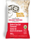 The Canadian Organic Popcorn Company Butter & Sea Salt