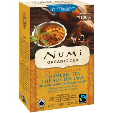 Numi Organic Golden Tonic Turmeric Tea