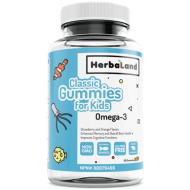 Herbaland Kid\'s Gummy Omega 3