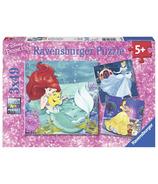 Ravensburger Casse-tête Aventure des Princesses 3 x 49