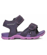 Bogs Whitefish Solid Sandal Eggplant Multi