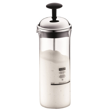 Bodum CHAMBORD Milk Frother Shiny Chrome