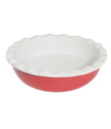 Now Designs Red Pie Plate