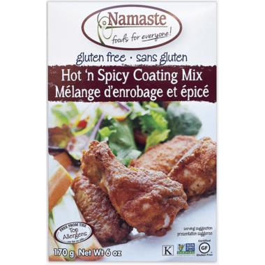 Namaste Foods Hot \'n Spicy Coating Mix