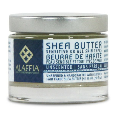 Alaffia Handcrafted Shea Butter Unscented