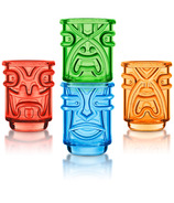 Final Touch Tiki Stacking Shot Glasses