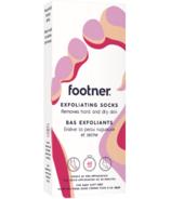 Footner Chaussettes exfoliantes pour l'élimination totale des peaux dures