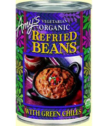 Amy's Organic Refried Beans With Green Chilis