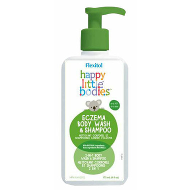 Flexitol Happy Little Bodies Kids Eczema Body Wash And Shampoo