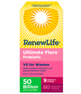 Renew Life Ultimate Flora VS for Women 50 Billion Active Cultures