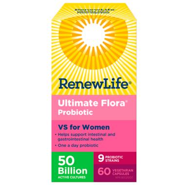 Renew Life Ultimate Flora VS for Women 50 Billion Active Cultures