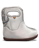 Bogs Toddler Boots Silver Metallic