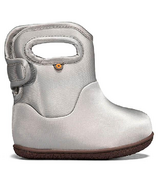 Bogs Toddler Boots Silver Metallic