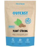 OUTCAST Protéines végétales fortes Chocolat à la menthe