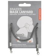 Chaîne de masque Kikkerland tressée noire