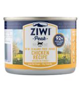 ZIWI Peak Canned Cat Food Chicken Recipe