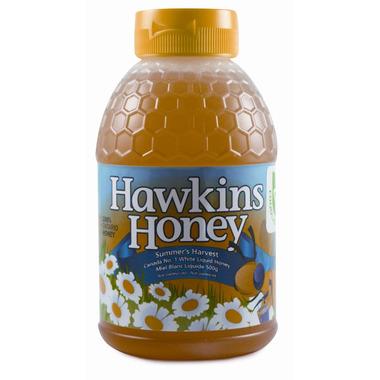 Hawkins Honey White Liquid Honey Squeeze Bottle
