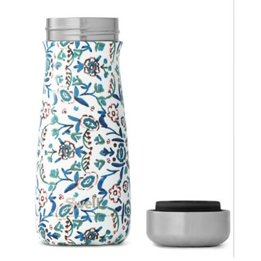 S\'well Traveler Stainless Steel Wide Mouth Blue Cornflower