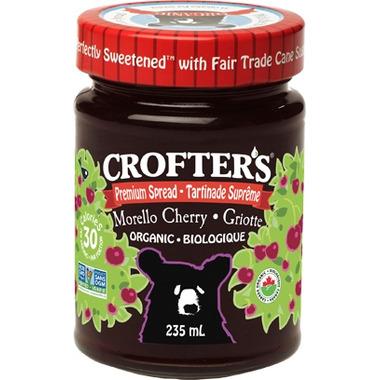 Crofter\'s Organic Morello Cherry Premium Spread
