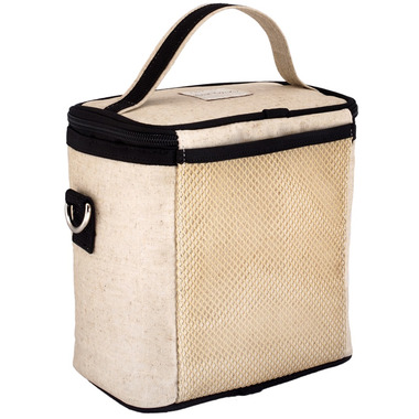 SoYoung Raw Linen Black Shark Large Cooler Bag