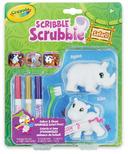 Crayola Scribble Scrubbies Safari Rhino & Hippo