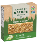 Taste of Nature Organic Granola Bars Key Lime Pie