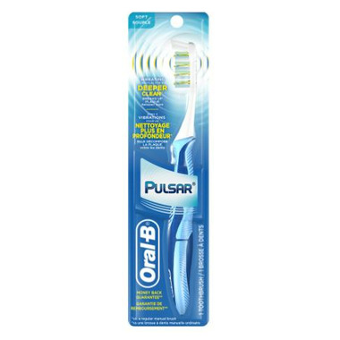 Oral-B Pulsar Toothbrush - Soft