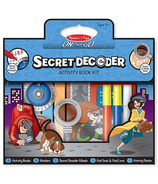 Melissa & Doug Secret Decoder Activity Book Kit On-The-Go