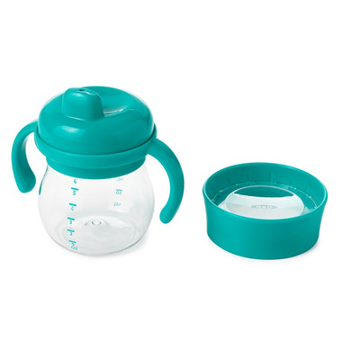 OXO Tot Transition Sippy Cup Set Teal