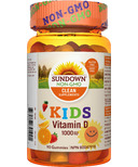 Sundown Naturals Kids Vitamin D Gummies