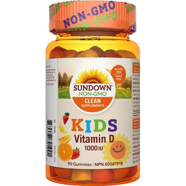 Sundown Naturals Kids Vitamin D Gummies