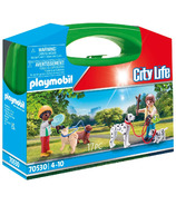 Playmobil Carry Case Puppy Playtime