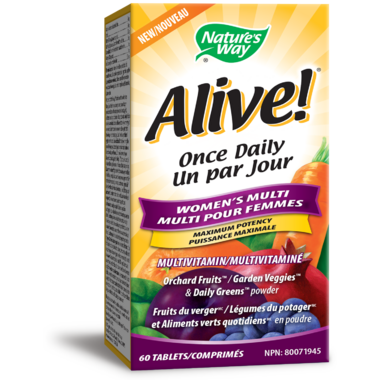 Nature\'s Way Alive! Once Daily Women Ultra