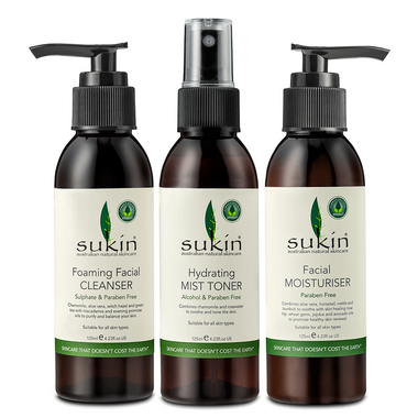 Sukin 3 Step Facial Gift Pack