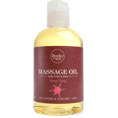 Rocky Mountain Soap Co. Ylang Ylang Massage Oil
