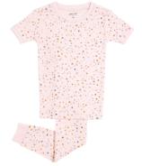 Petit Lem Pyjama Set Rosa Terrazzo