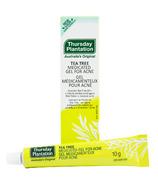 Gel médicinal aux extraits d'arbre à thé de Thursday Plantation pour le traitement de l'acné