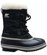 Sorel Children's Yoot Pac Nylon Black