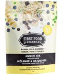 First Food Organics Banana Blueberry Pea Munch Mix