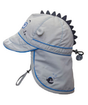 Calikids Long Back Quick-Dry Cap Quiet Grey
