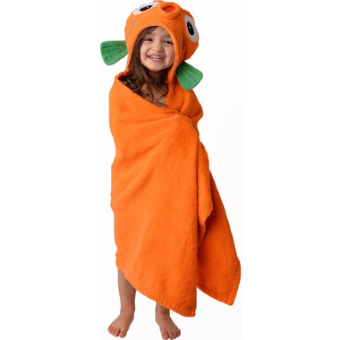 Zoocchini Toddler Hooded Towel Sushi the Tropical Fish