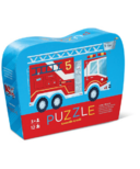 Crocodile Creek 12-Piece Mini Puzzle Fire Truck