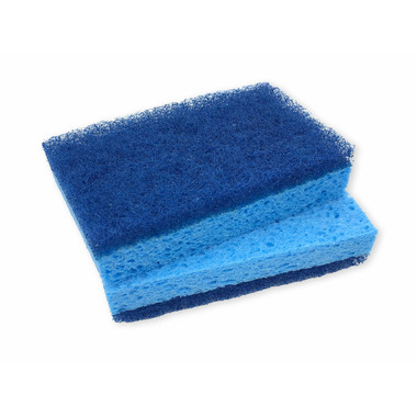 The Original Biodegradable Tub and Tile Sponge With Scourer
